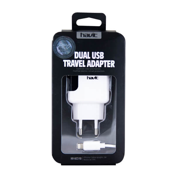 CARGADOR IPHONE 6 IPAD 2 USB UC318