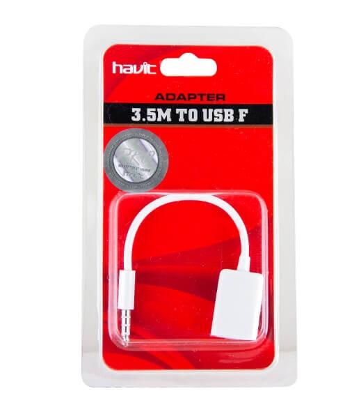 Cable jack a Hembra USB HV-CB755